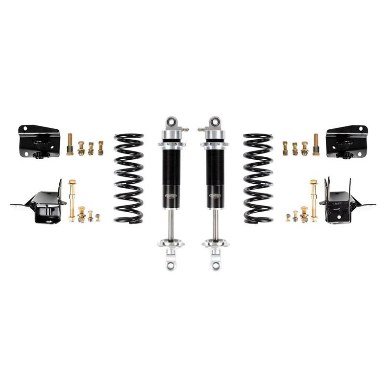 Detroit Speed 042405 68-72 A-Body Rear Coilover Kit Base Shocks Stock Rear Axle