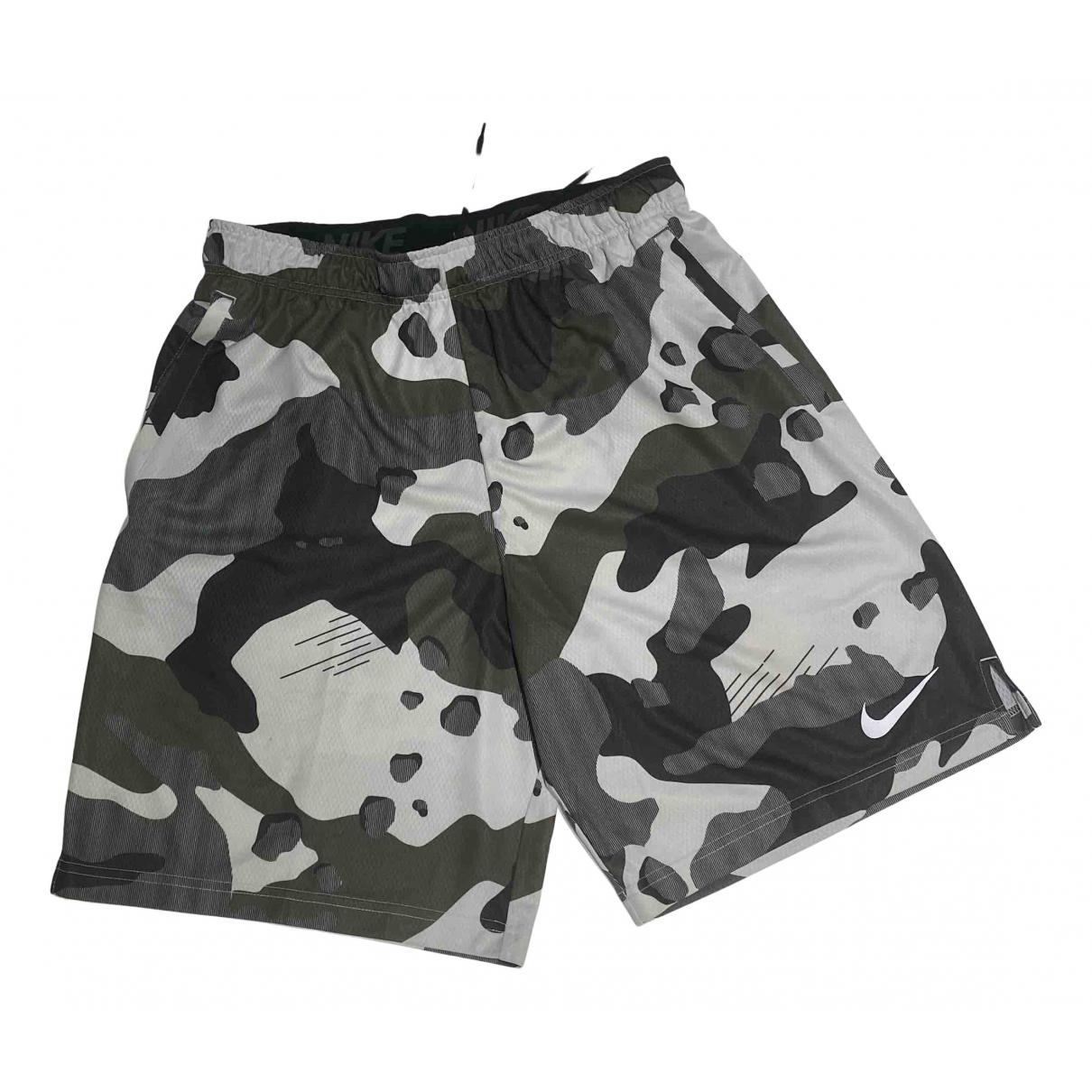 Nike \N Shorts in  Khaki Polyester