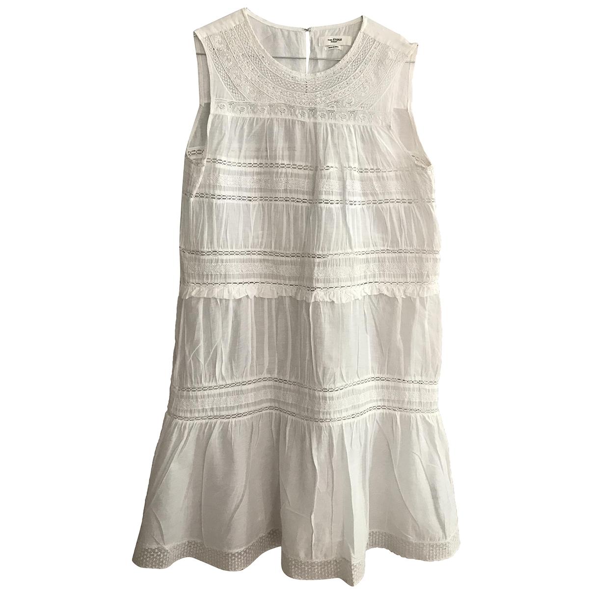 Isabel Marant Etoile \N White Cotton dress for Women 38 FR