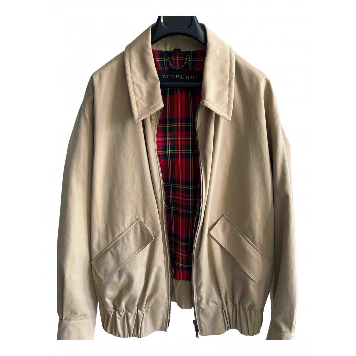Burberry N Beige Cotton jacket  for Men 46 IT