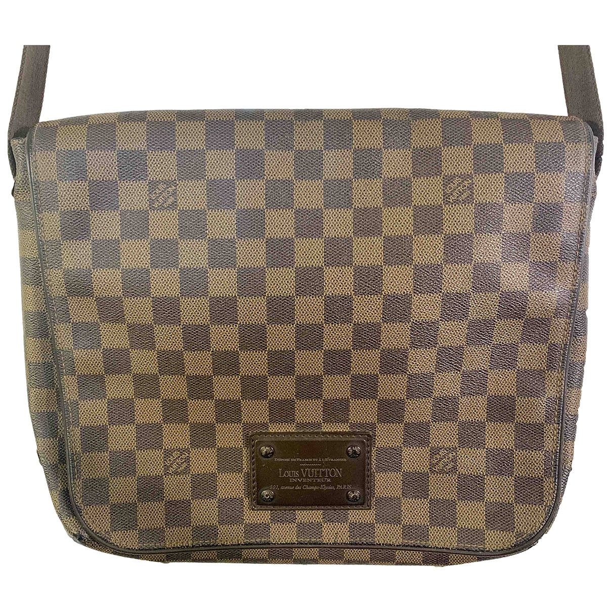 Bolso Brooklyn de Lona Louis Vuitton