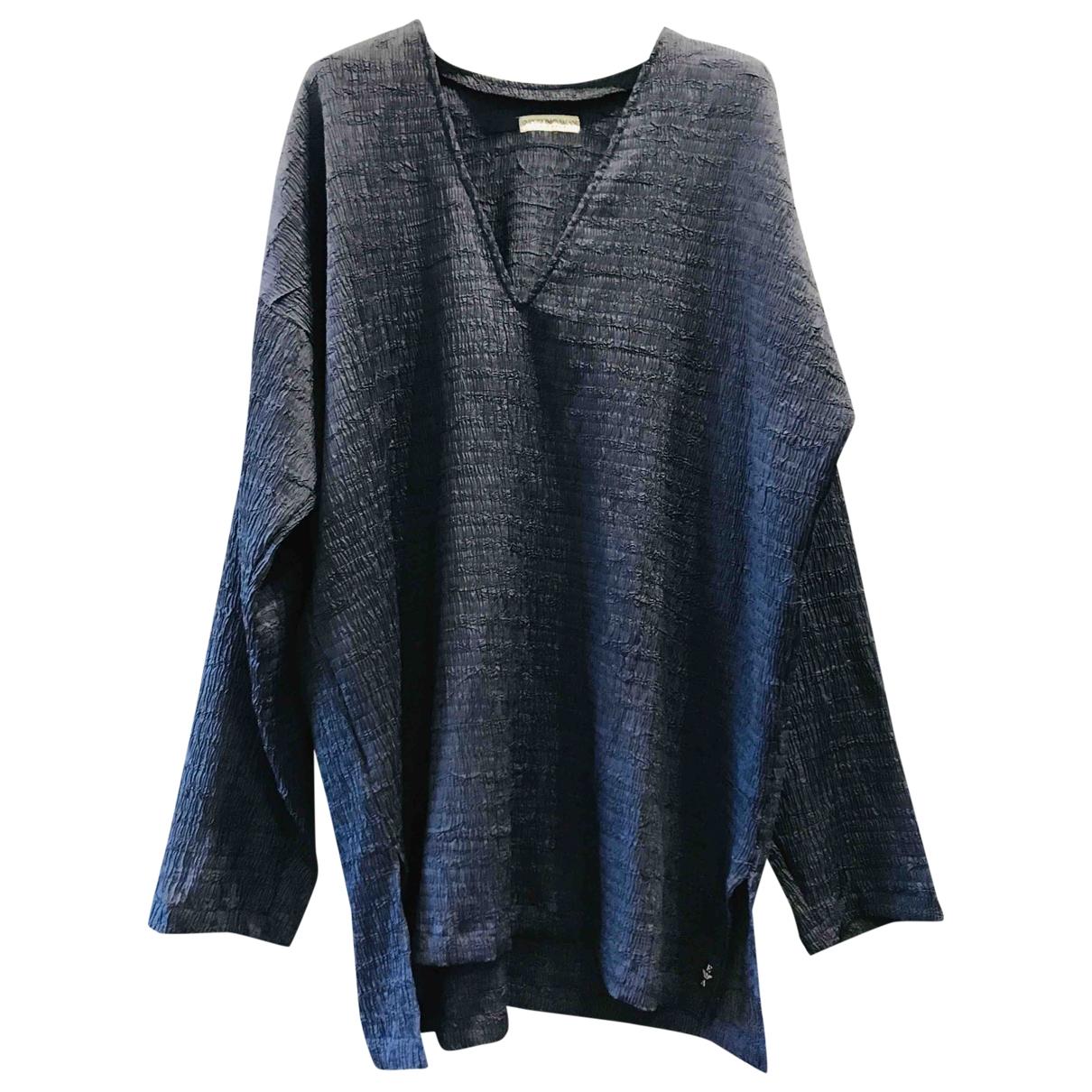 Emporio Armani - Chemises   pour homme - marine