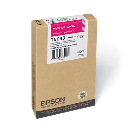 Epson T603300 Original Vivid Magenta Ink Cartridge