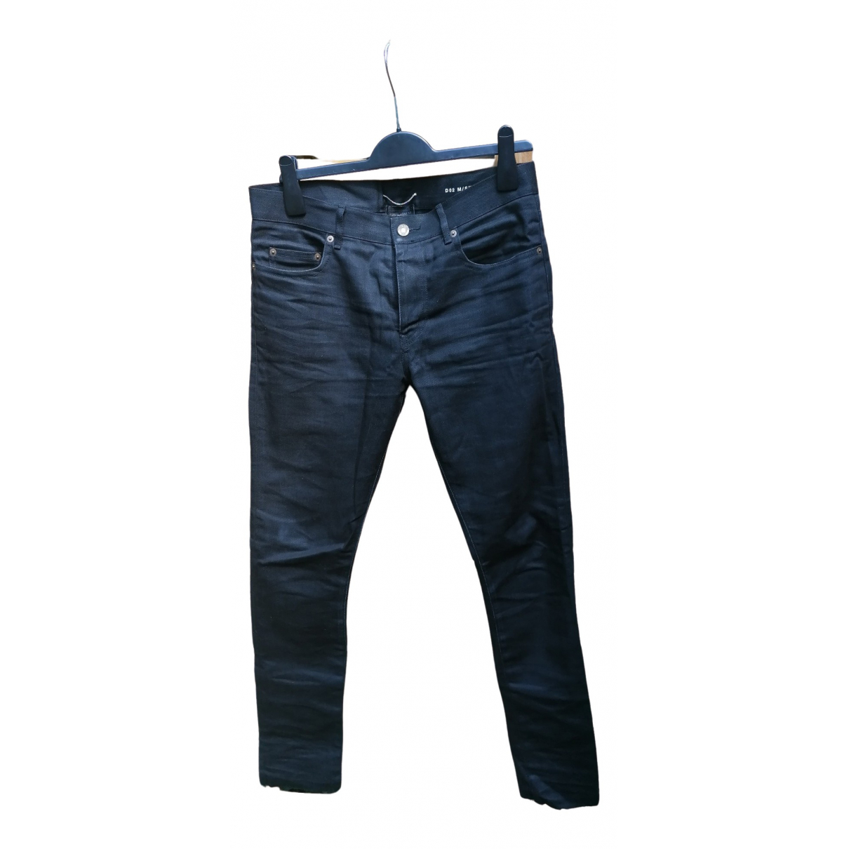 Saint Laurent \N Black Cotton - elasthane Jeans for Men 31 US