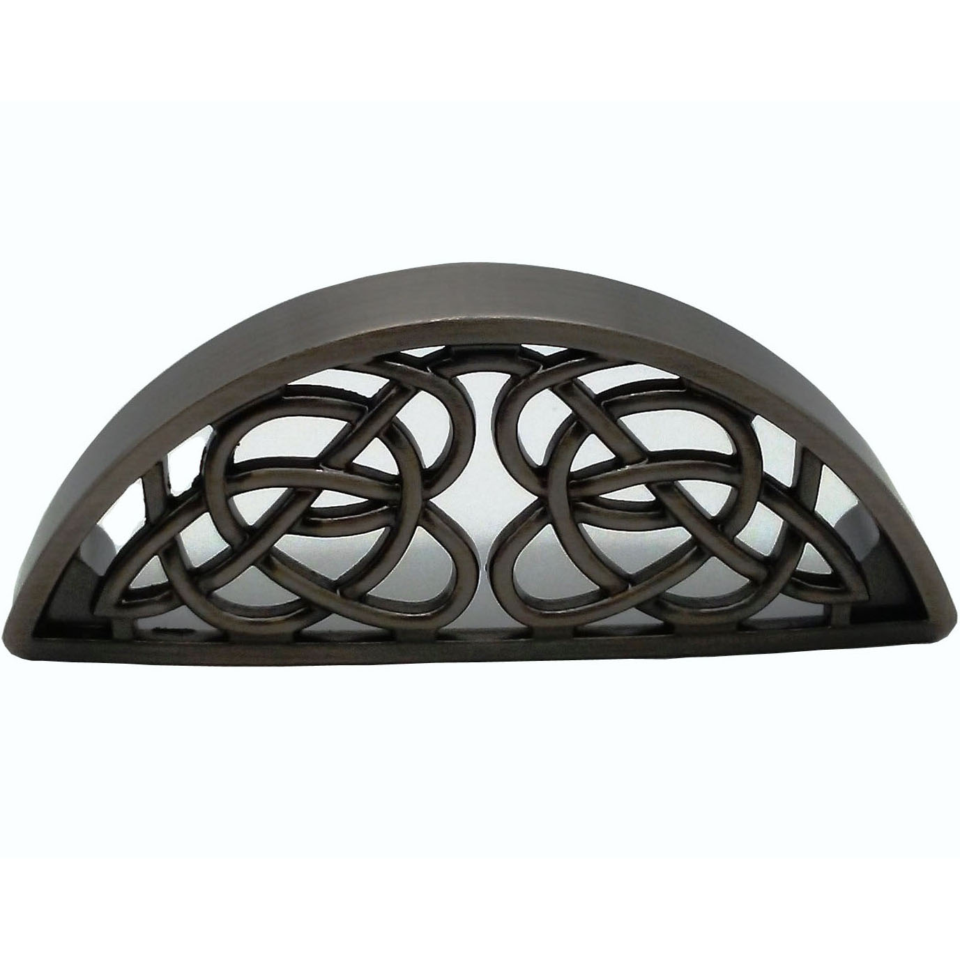 Celtic Cup Pull, Satin Nickel Oxide