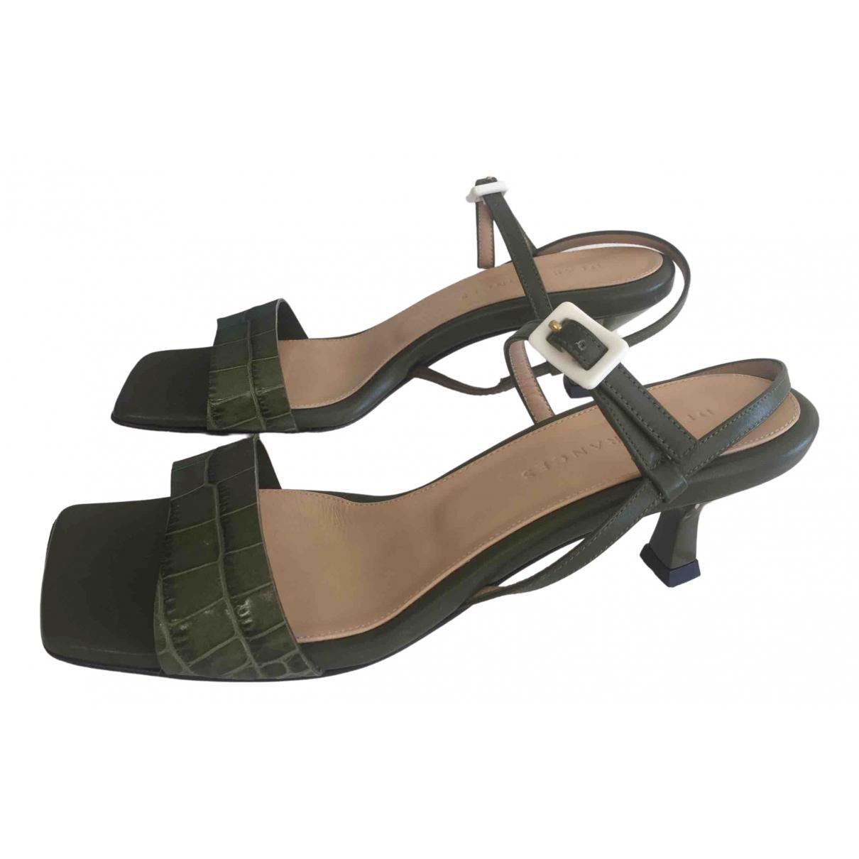 Sandalias romanas de Cuero Dear Frances