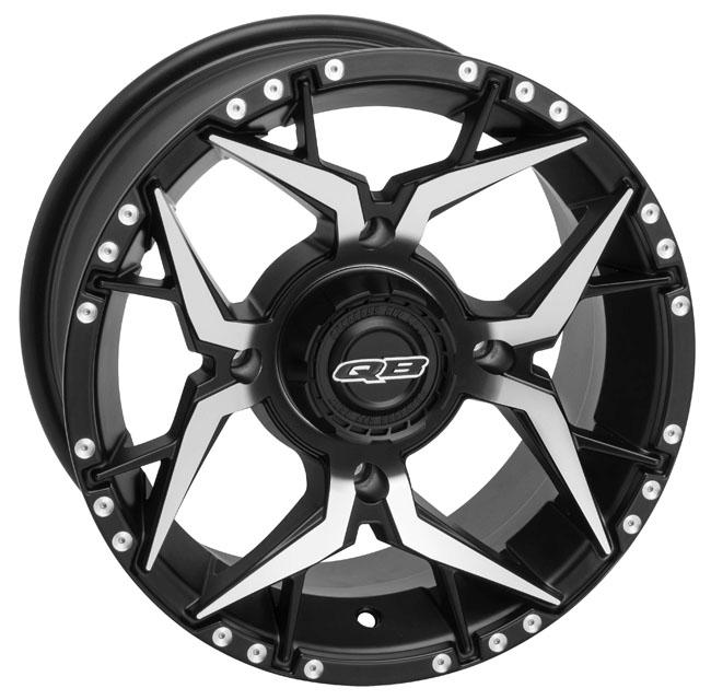 QuadBoss Shocker Wheels 14X7 4/110 5+2