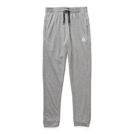 Reebok Little & Big Boys Cuffed Sweatpant, 4 , Gray