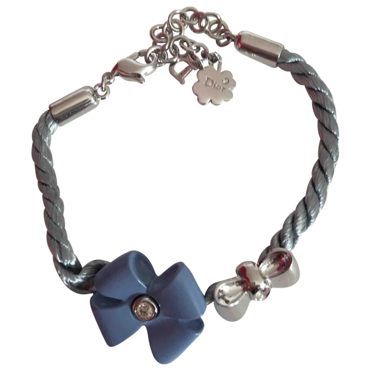 Dior \N Blue Silk bracelet for Women \N