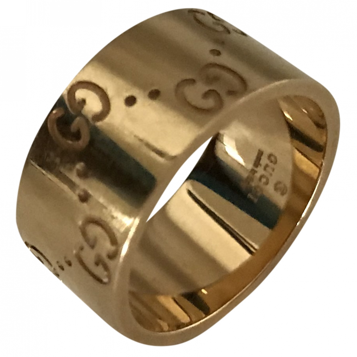 Gucci Icon Ring in  Gold Gelbgold