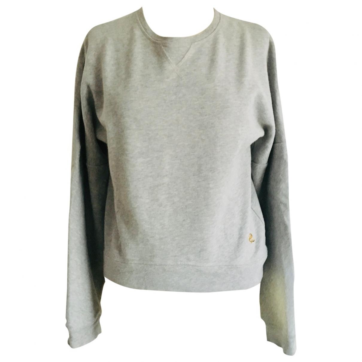 Mcq - Pull   pour femme en coton - gris