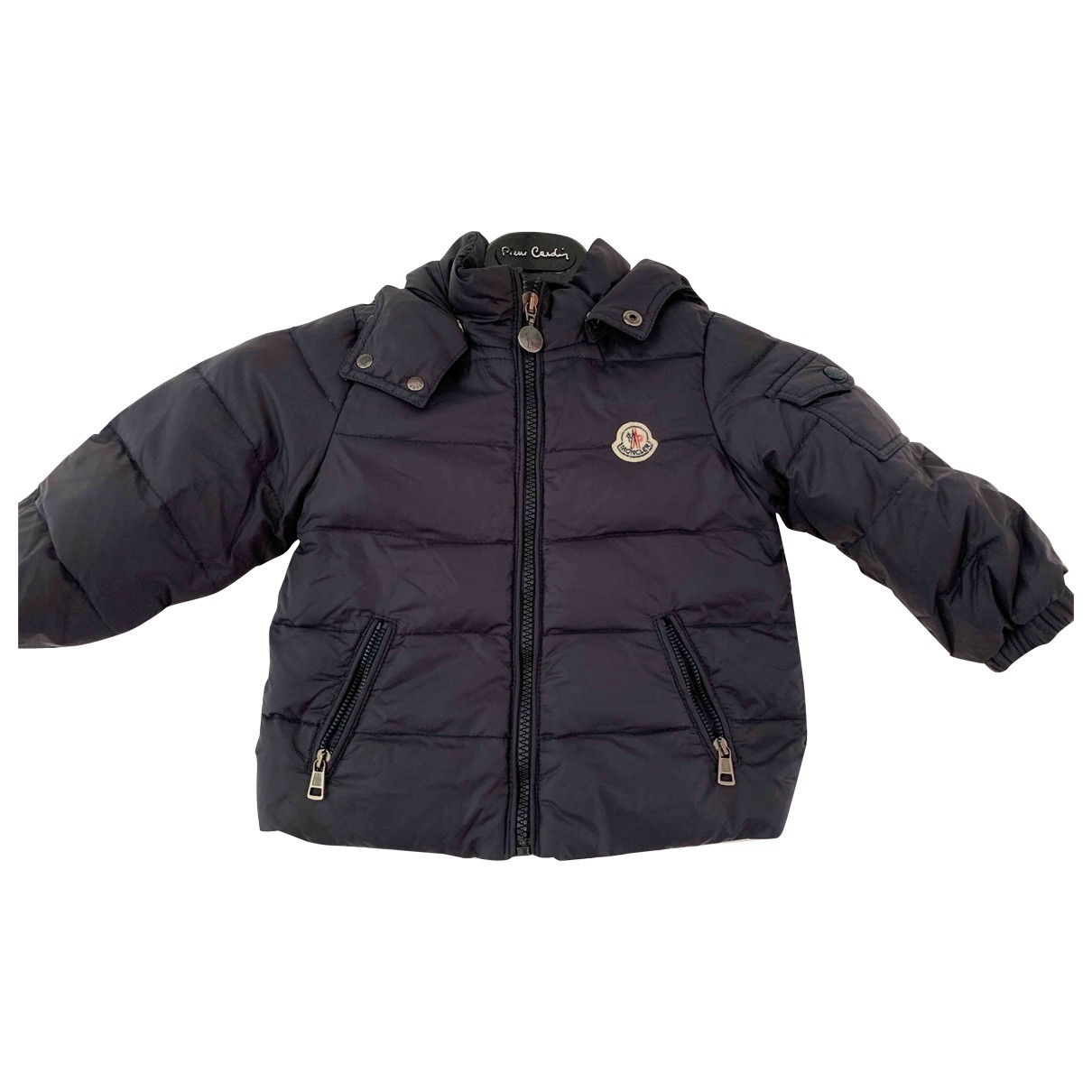 Moncler Classic Jacke, Maentel in  Marine Polyester