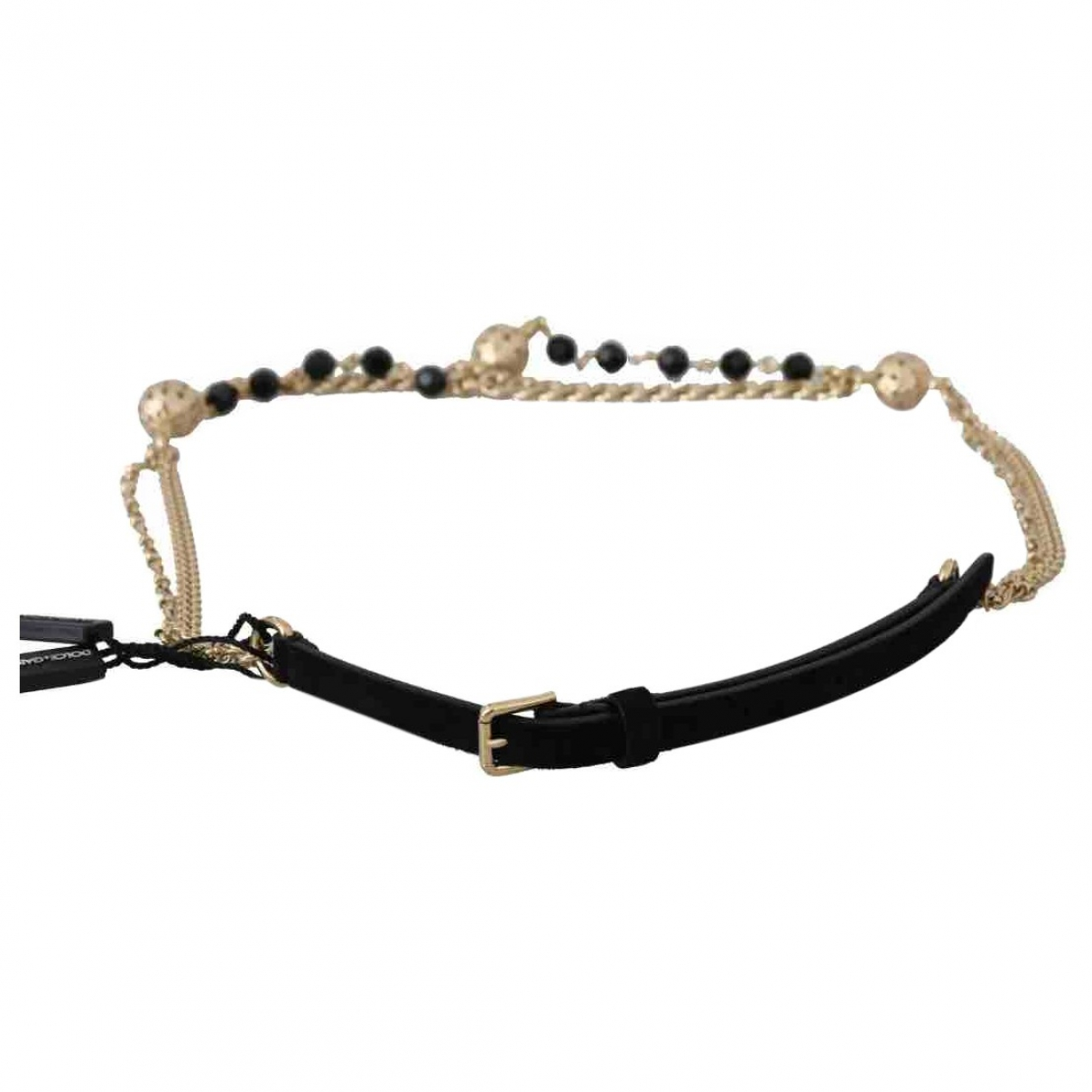 Dolce & Gabbana \N Black Chain belt for Women M International