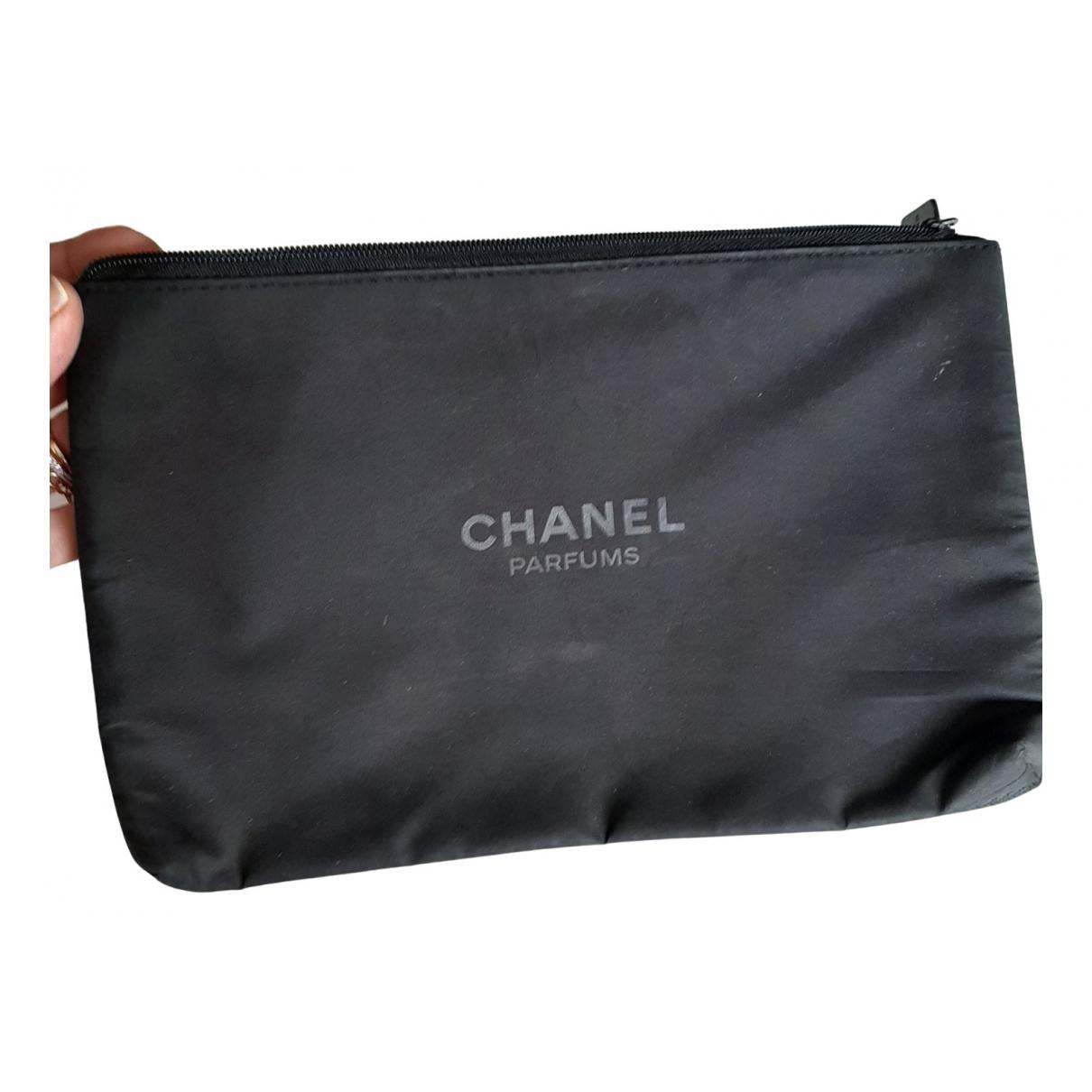 Chanel - Sac de voyage   pour femme - noir