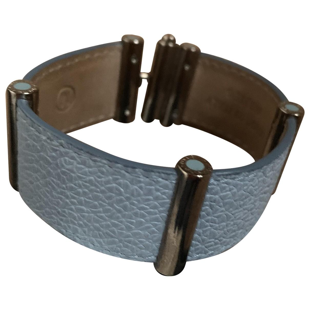Bvlgari - Bracelet   pour femme en cuir - marine