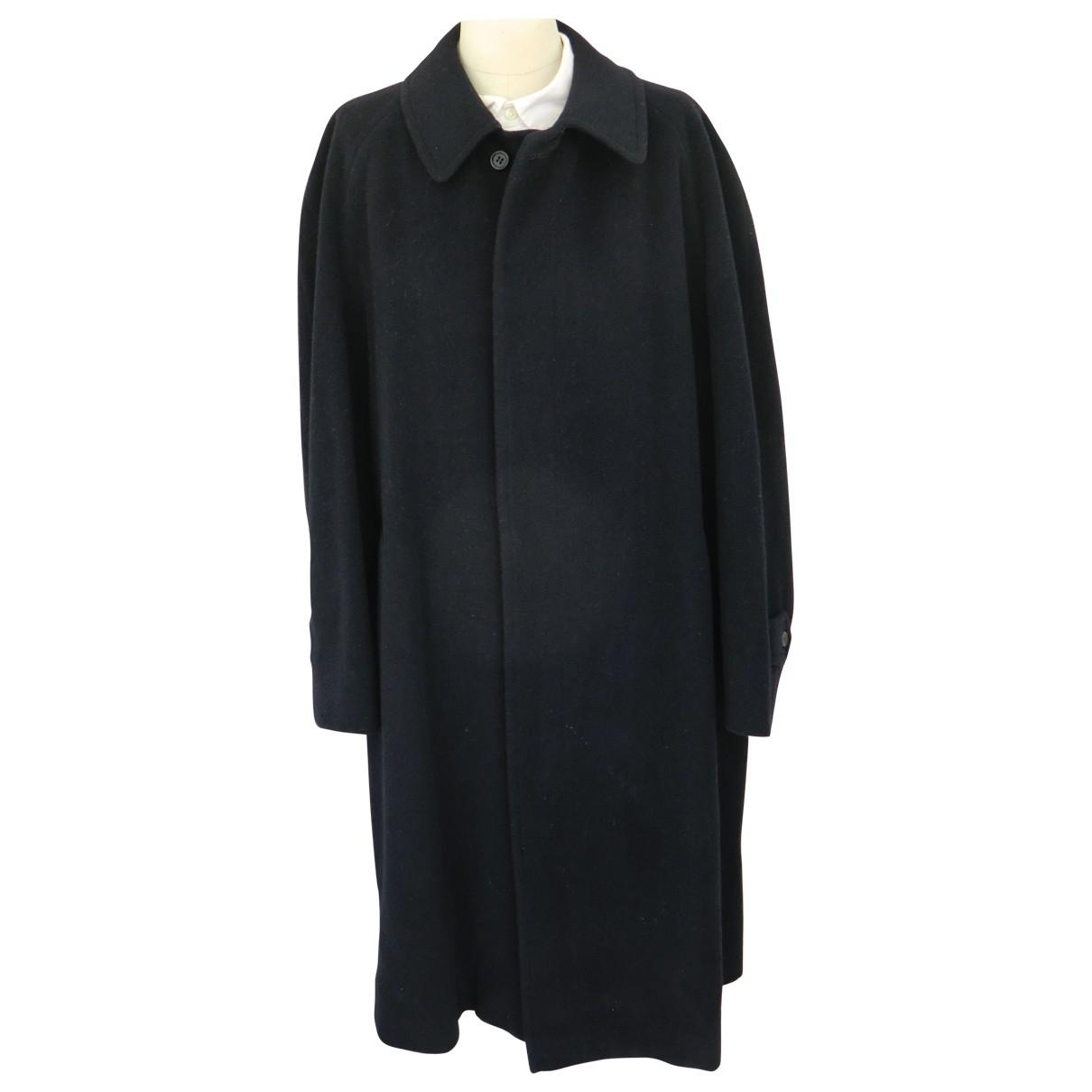 Burberry - Manteau   pour homme en laine - marine