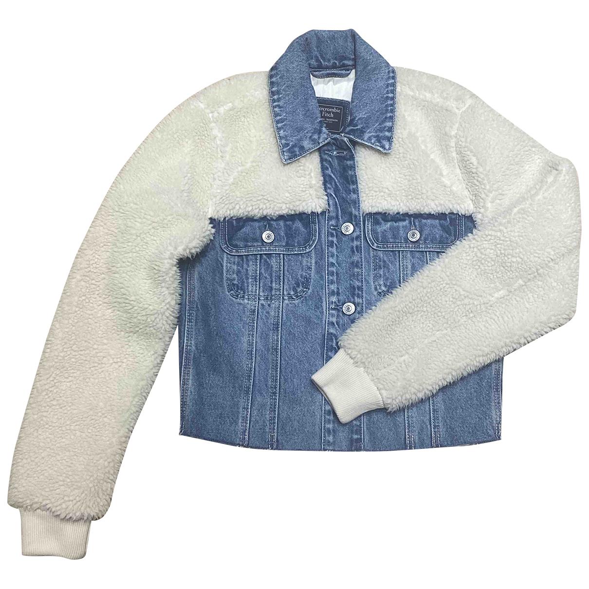 Abercrombie & Fitch - Manteau   pour femme - bleu