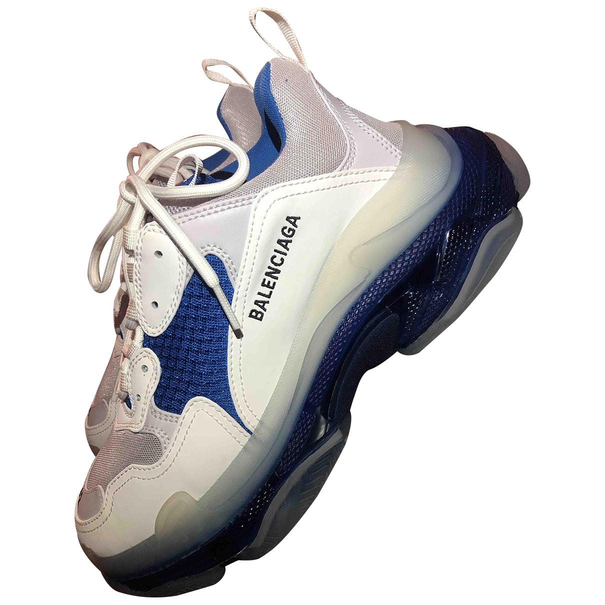 Balenciaga - Baskets Triple S pour homme - bleu