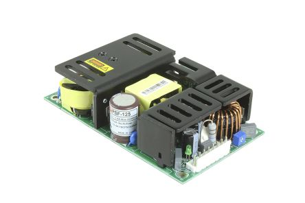 RS PRO , 124.8W Embedded Switch Mode Power Supply SMPS, 24V dc, Open Frame