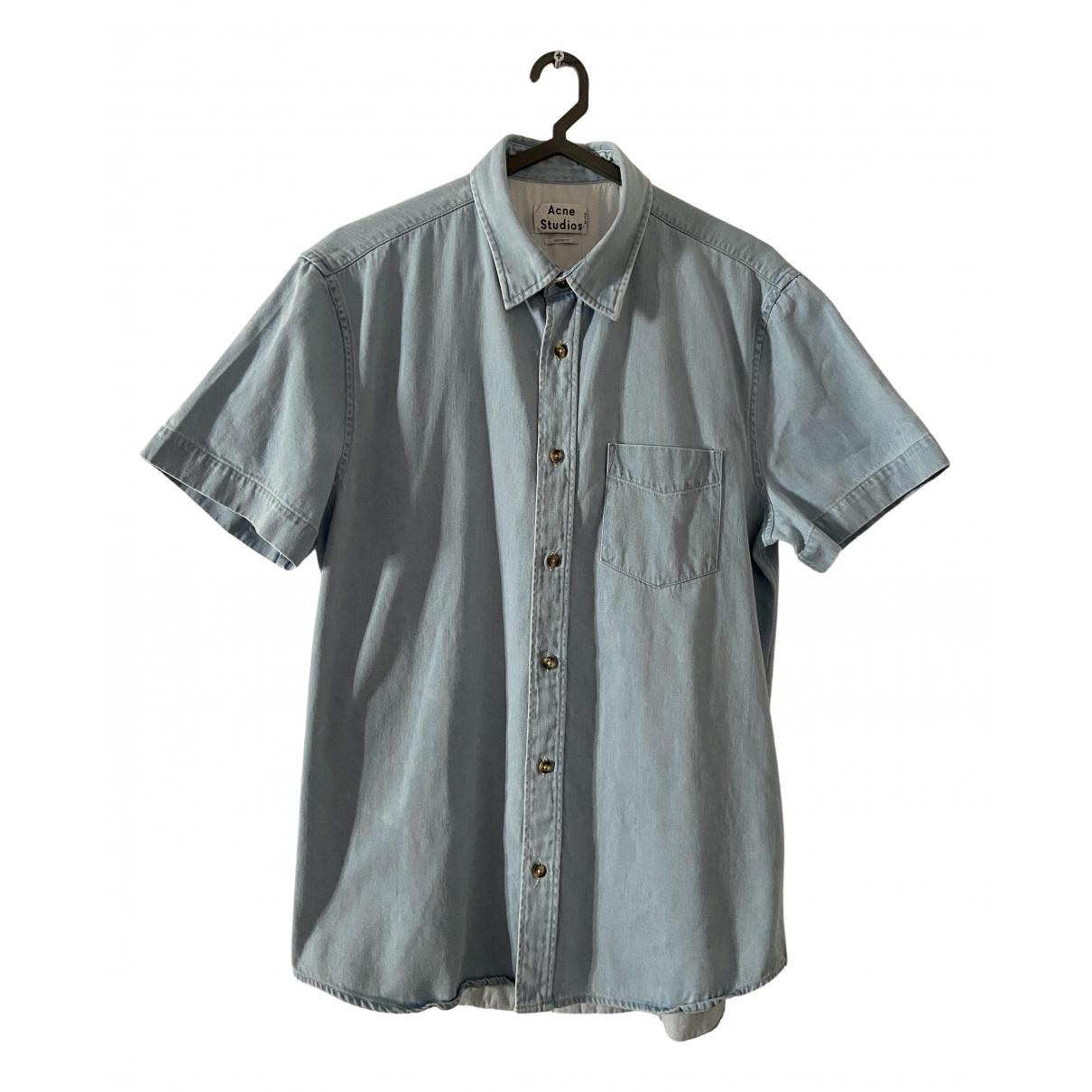 Acne Studios N Blue Denim - Jeans Shirts for Men M International