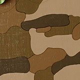Metal Camouflage Gift Wrap - 30 X 417' - Gift Wrapping Paper - Type: High Gloss Canvas Embossed On 60# Paper by Paper Mart
