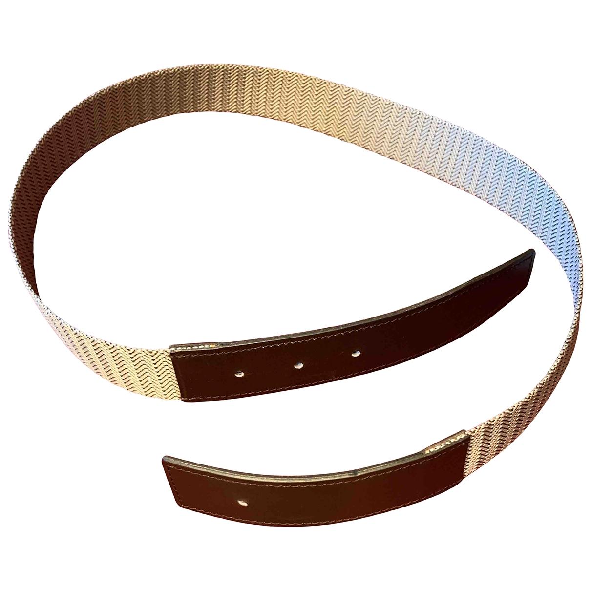 Cinturon Cuir seul / Leather Strap de Lona Hermes