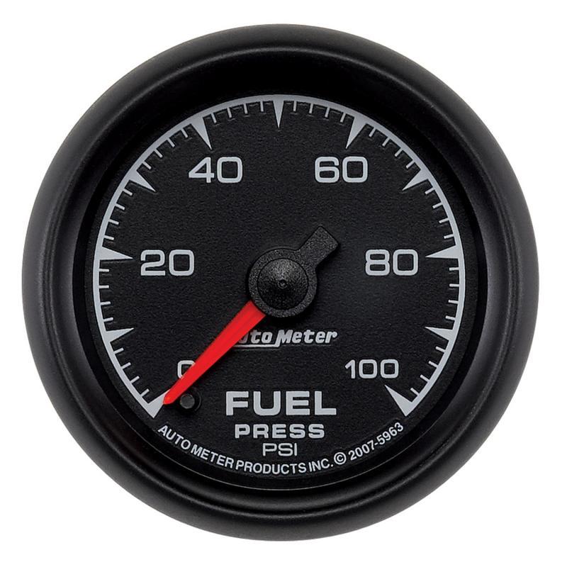 AutoMeter GAUGE; FUEL PRESSURE; 2 1/16in.; 100PSI; DIGITAL STEPPER MOTOR; ES