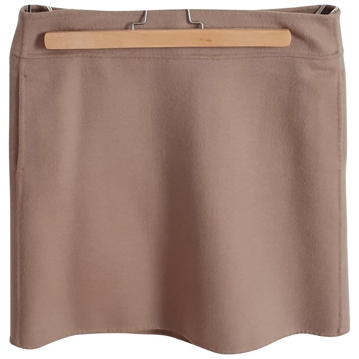 Mini falda de Lana Max Mara s