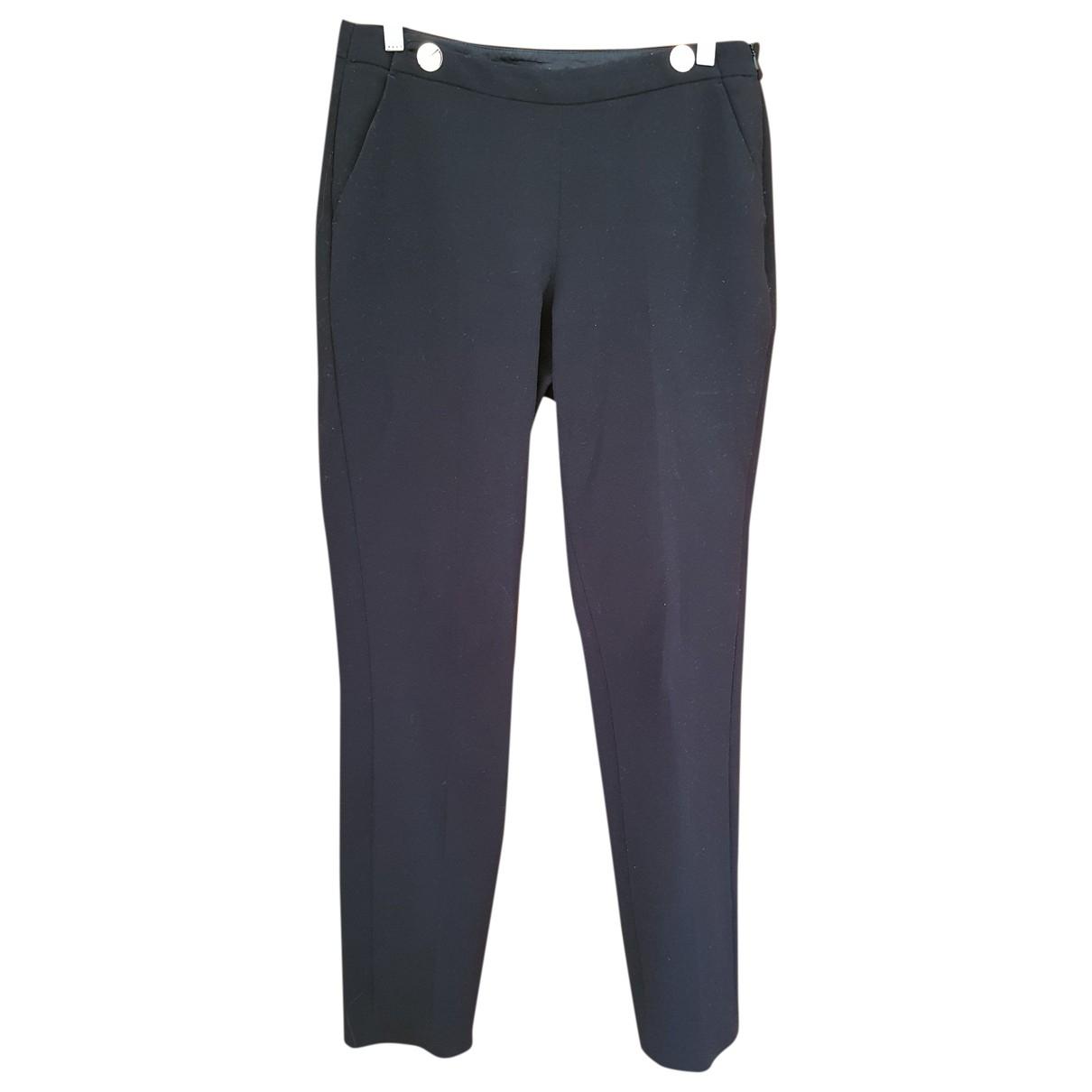 Lk Bennett \N Black Trousers for Women 10 UK
