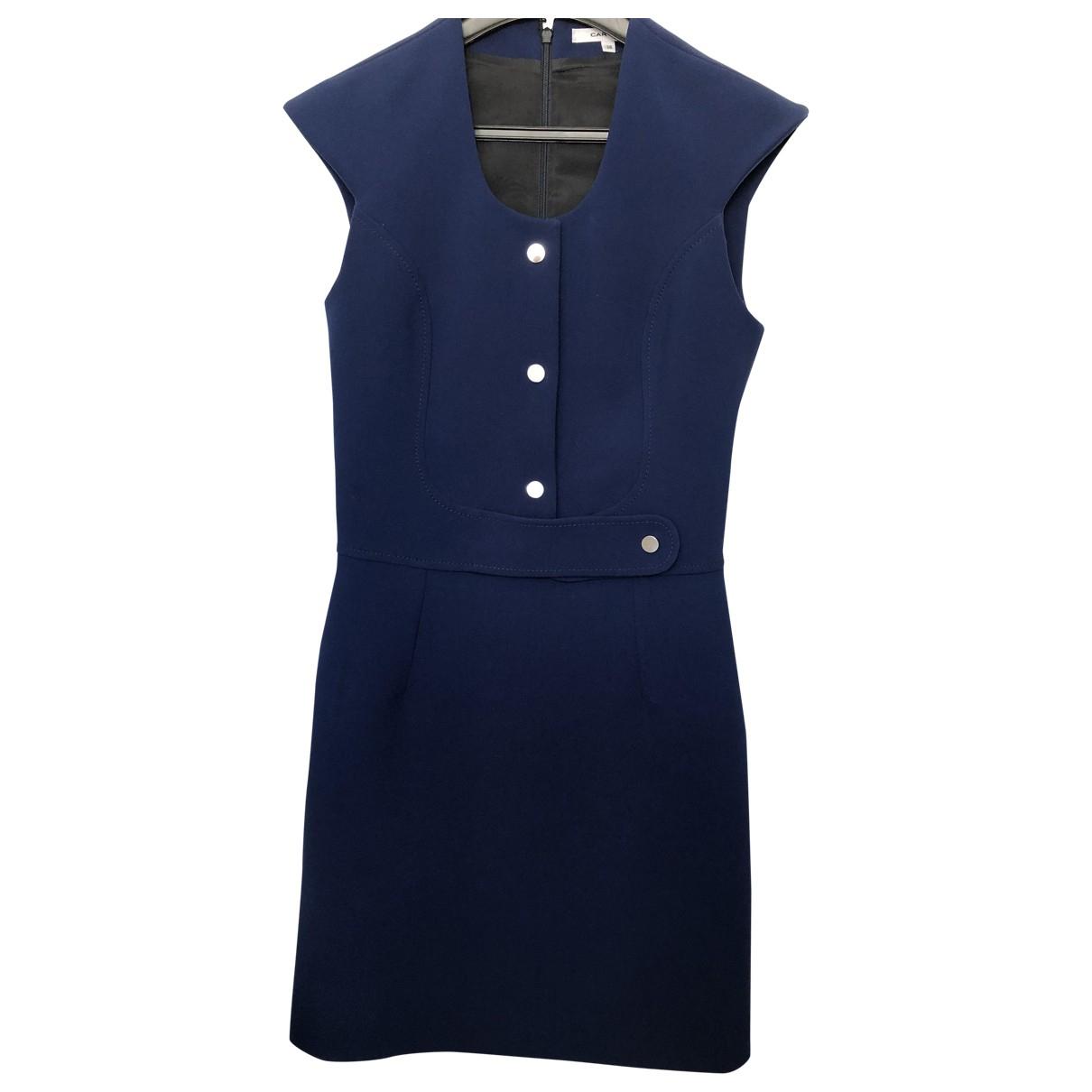 Carven - Robe   pour femme - bleu
