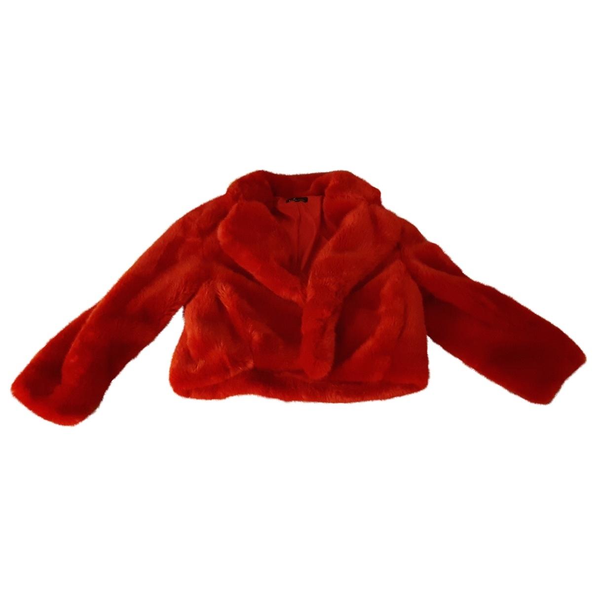 Zara \N Red Faux fur coat for Women M International