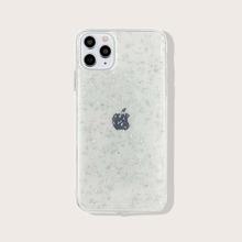 iPhone Etui mit Silberfolie Muster