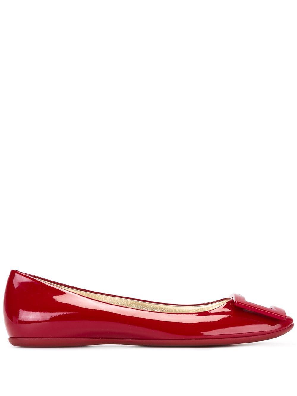 Gommette Patent Leather Ballet Flats