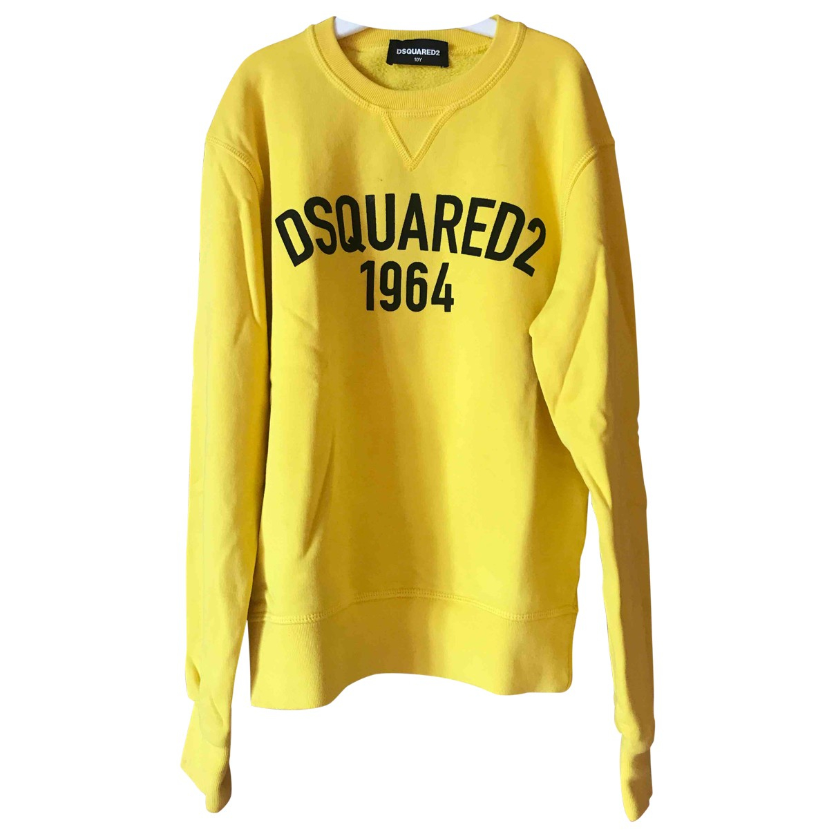 Dsquared2 \N Yellow Cotton Knitwear for Kids 10 years - up to 142cm FR