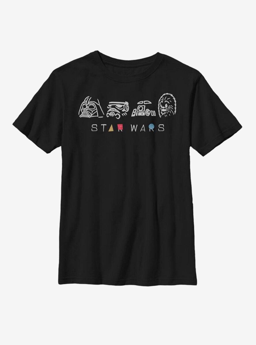 Star Wars Geometry Shine Youth T-Shirt