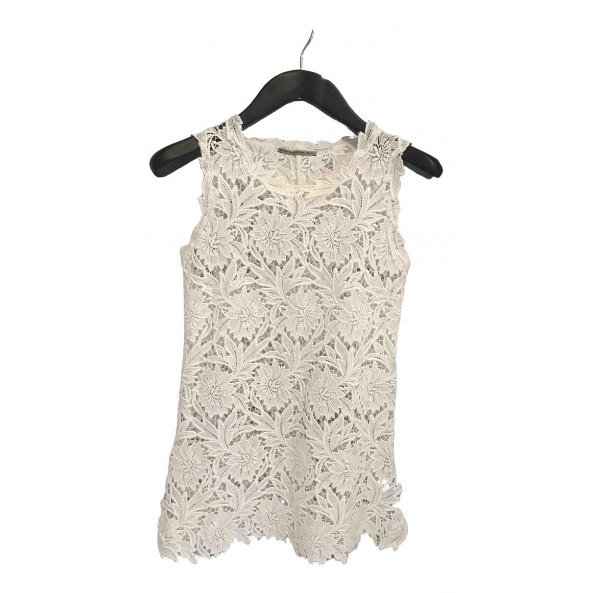 Ermanno Scervino N White Cotton Knitwear for Women 38 IT