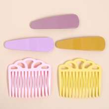 5pcs Solid Hair Accessory