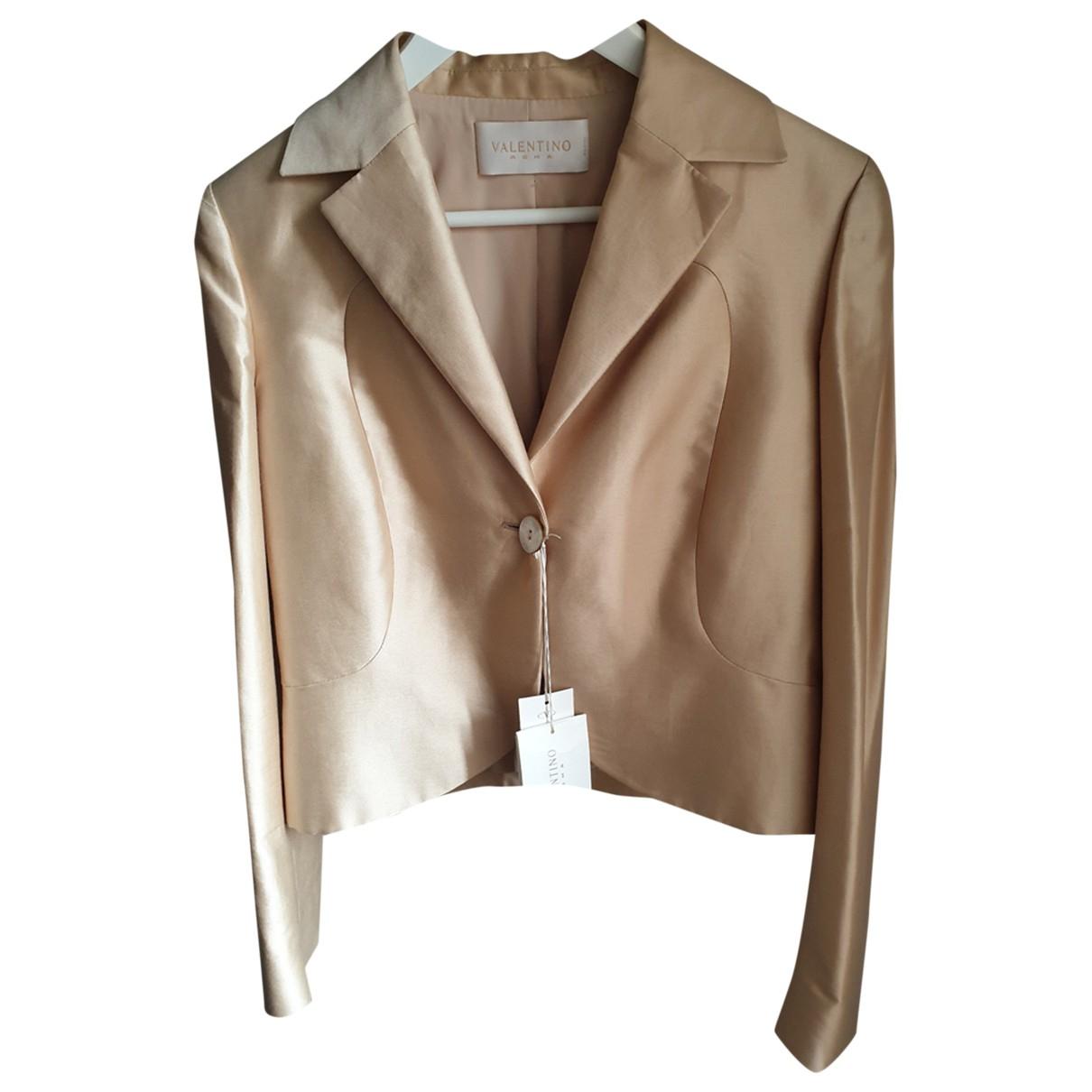 Valentino Garavani - Veste   pour femme en coton - beige