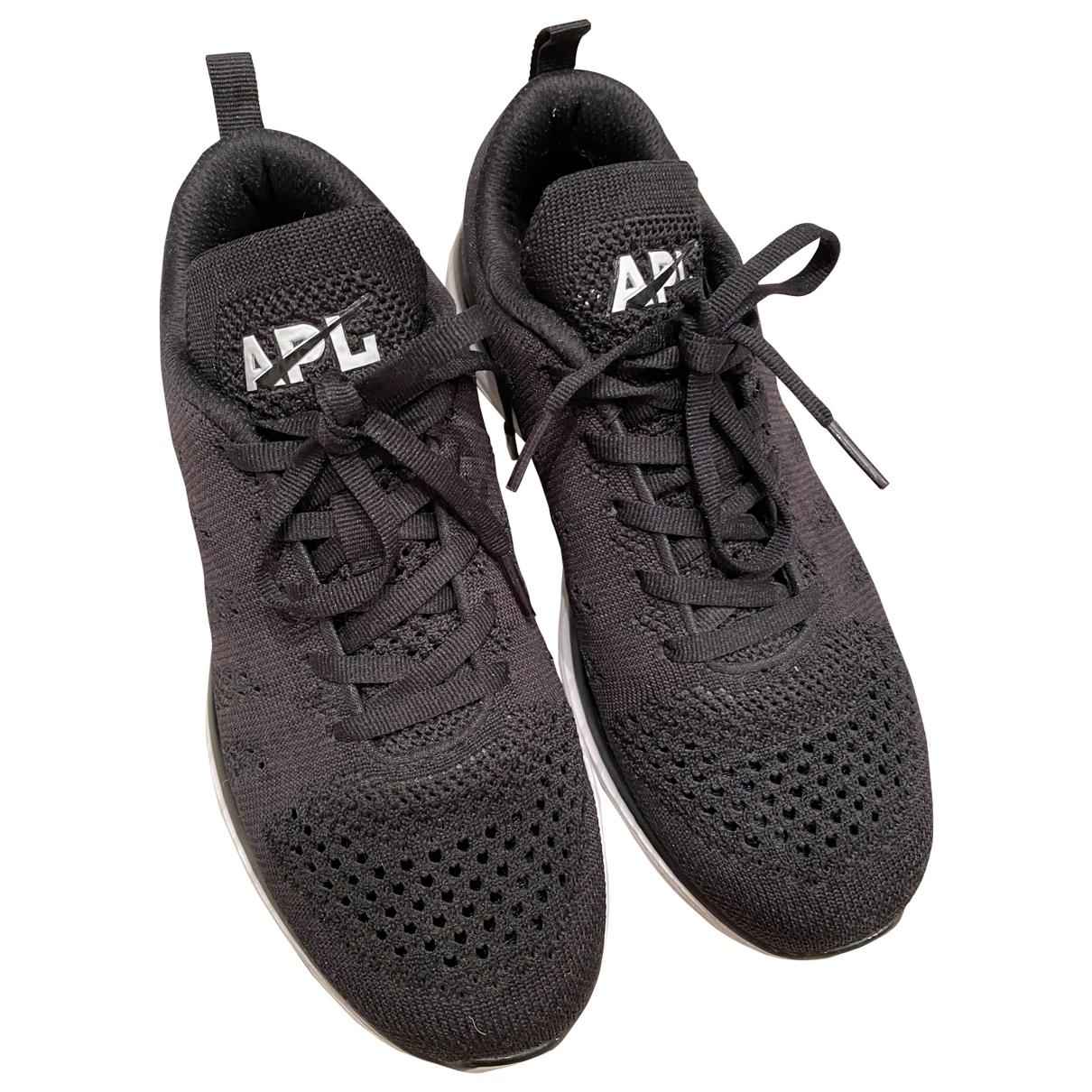 Apl Athletic Propulsion Labs - Baskets   pour femme en toile - noir