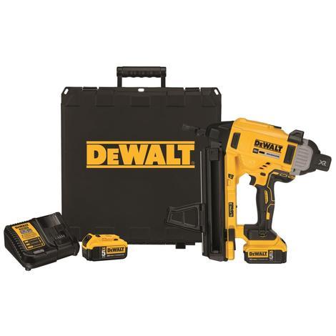 DeWalt 20V Max* Cordless Concrete Nailer Kit