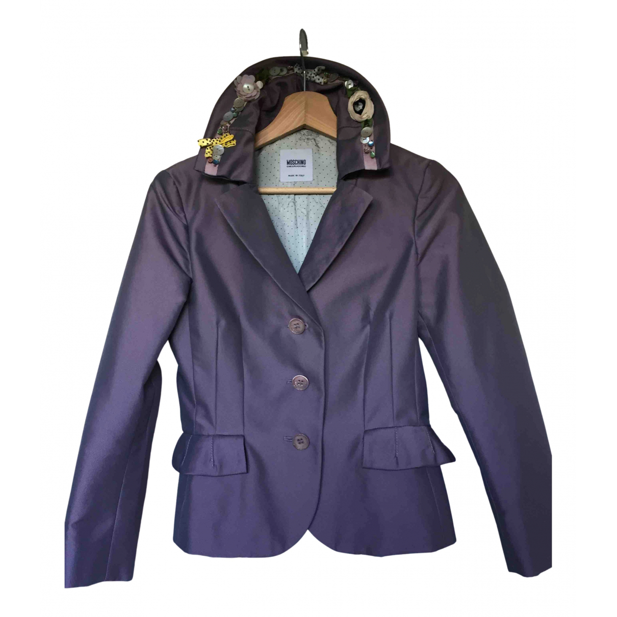 Moschino Cheap And Chic - Veste   pour femme - violet