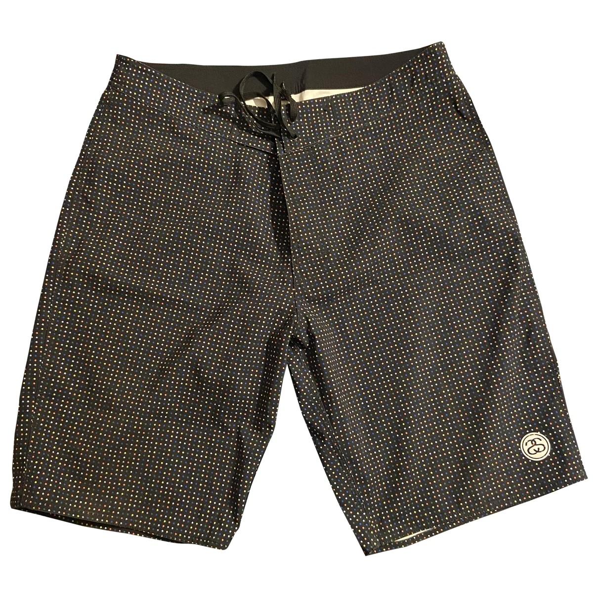 Stussy \N Shorts in  Schwarz Polyester