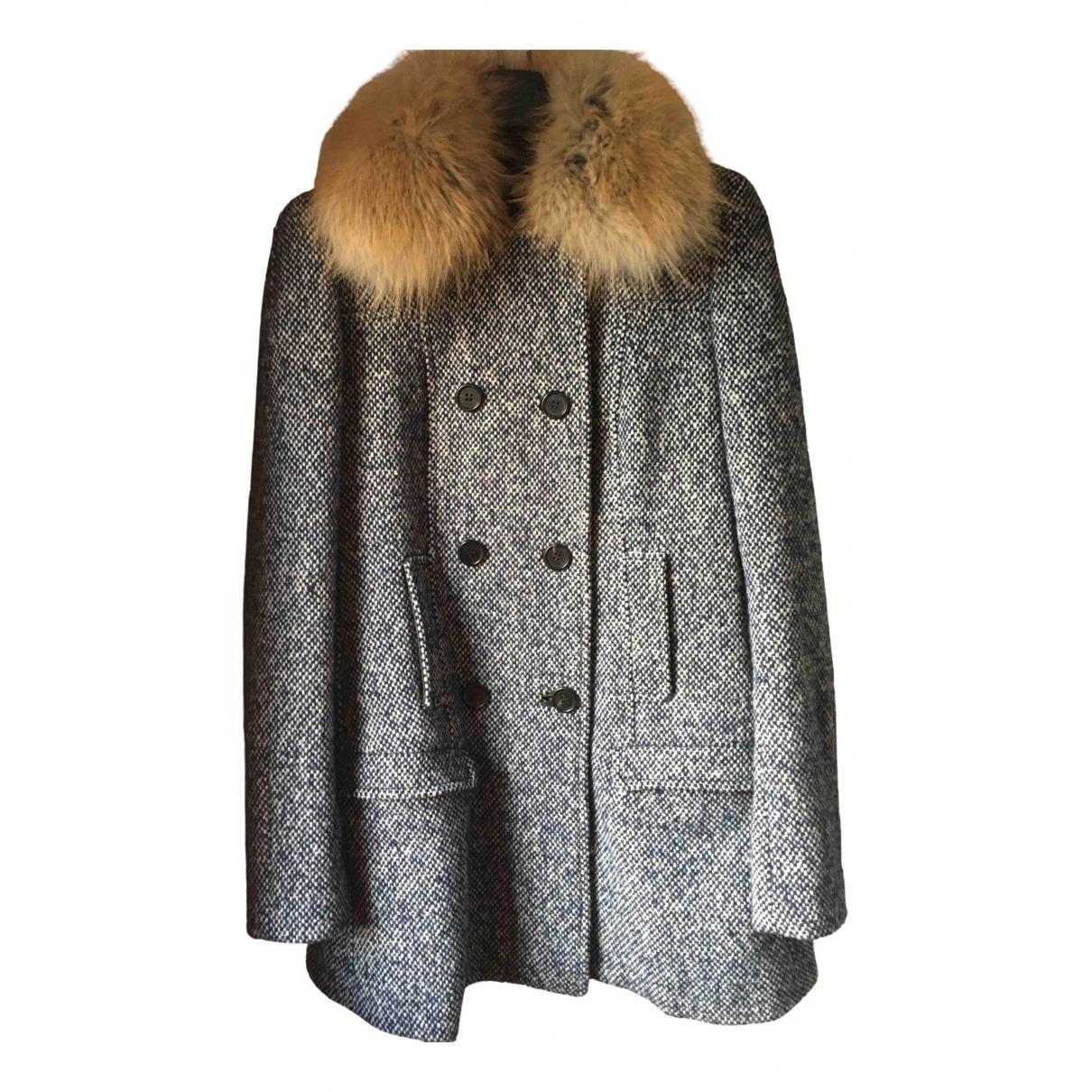 Malo - Veste   pour femme en laine - bleu