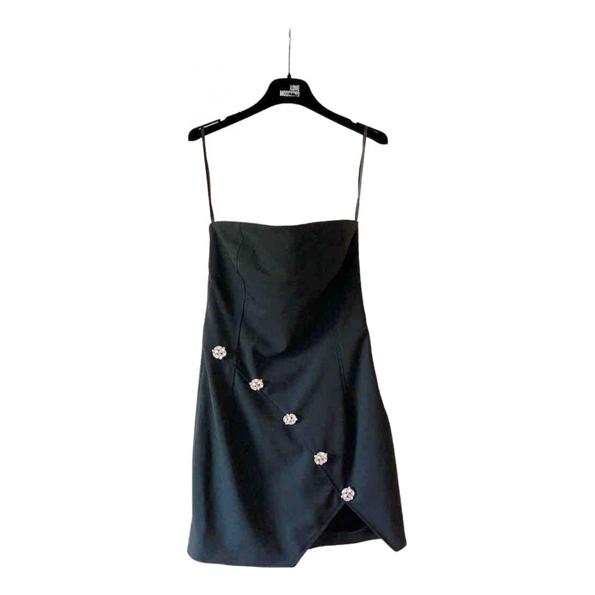Faith Connexion \N Kleid in  Schwarz Polyester