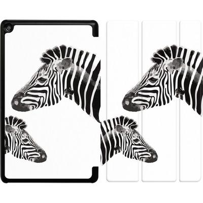 Amazon Fire HD 8 (2017) Tablet Smart Case - Zebra Pride von Mukta Lata Barua