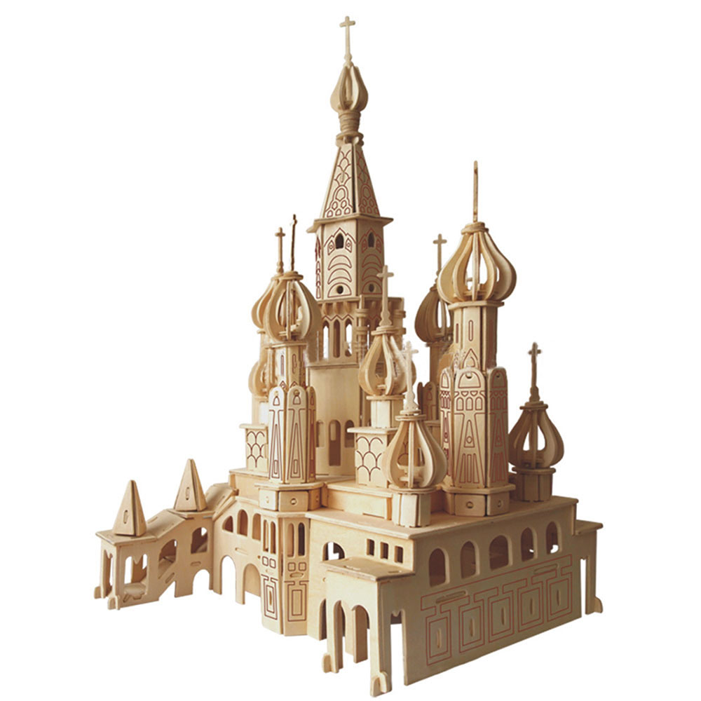 Petersburg Church Puzzle DIY Children Assemble Puzzle Toys