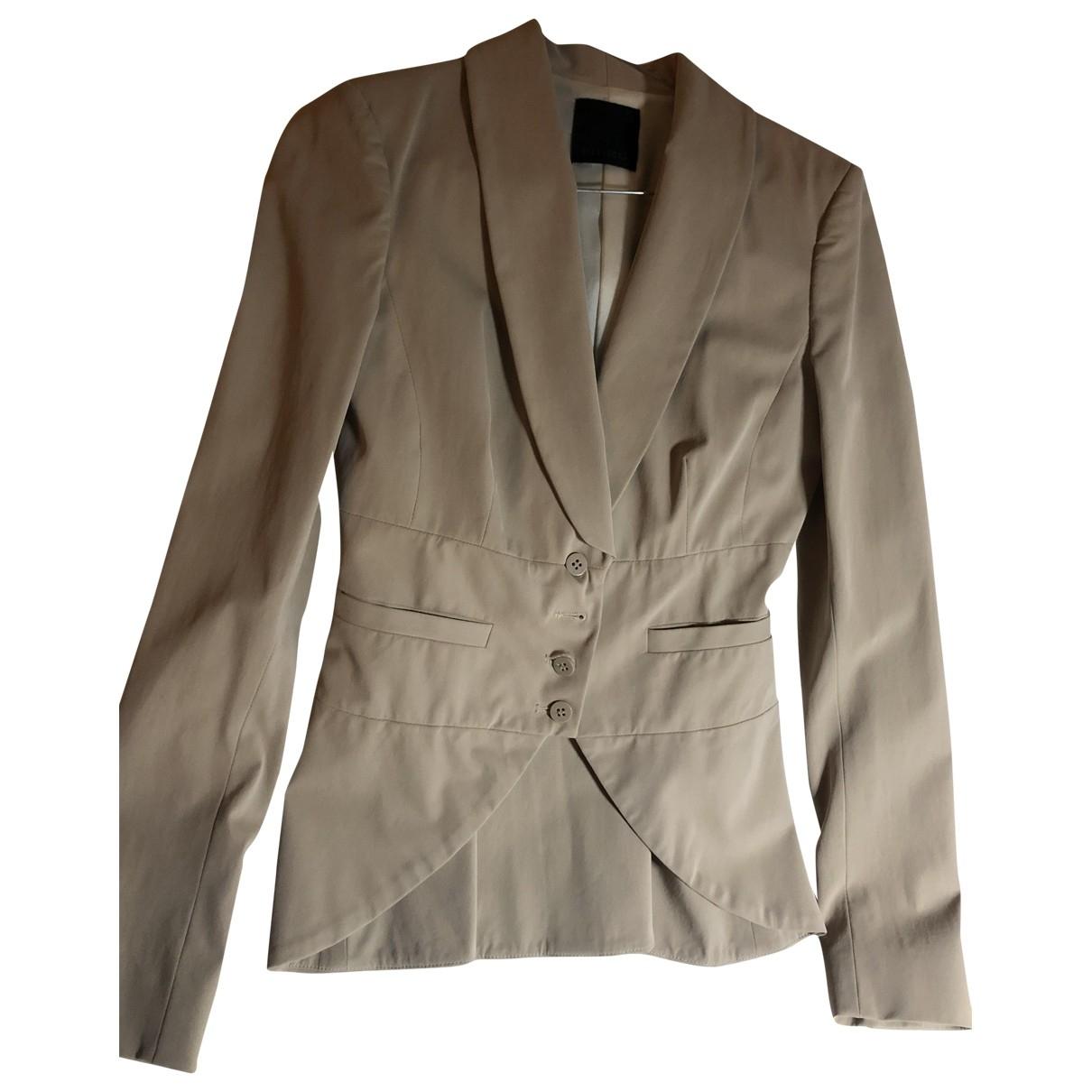 Pinko - Robe   pour femme en coton - beige