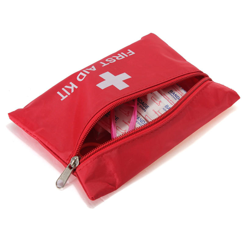 First Aid Kit Outdoor Hiking Camping Emergency Bag Sport Rescue Treatment Without Drugs
