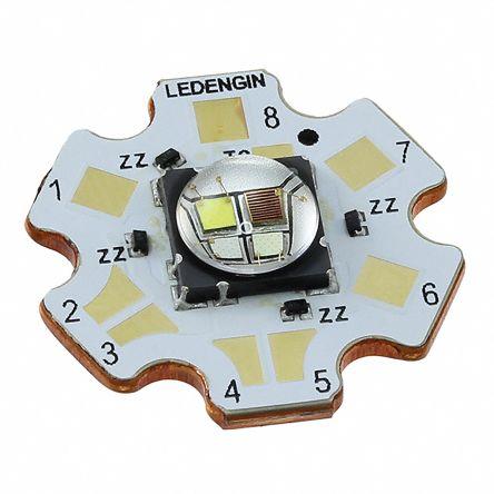 LedEngin Inc LZ4-V0MD0C-0000, LZ Circular LED Array, 4 Blue, Green, Red, White LED (6500K) (20)