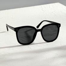 Maenner Sonnenbrille mit Nieten Dekor